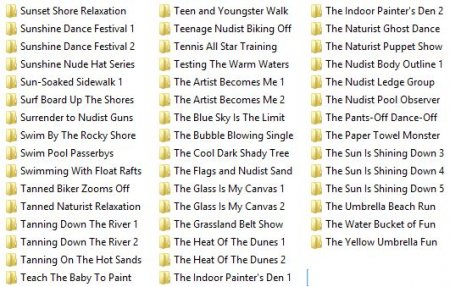 Collection from Admin 53 (family nudism and naturism)