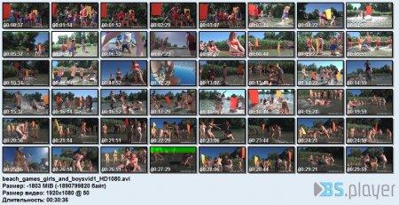 Beach Games Girls And Boysvid 1