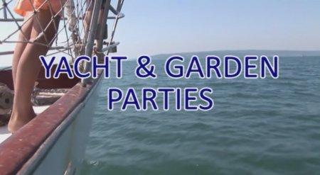 Yacht and garden