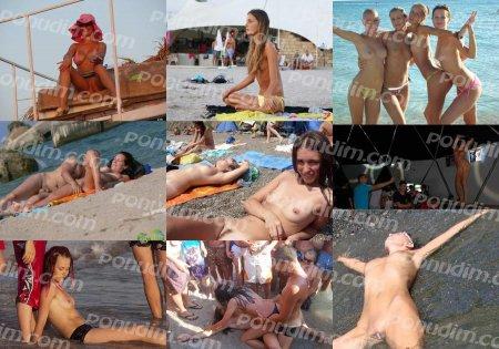 Kazantip contest (youth nudism, swingers)