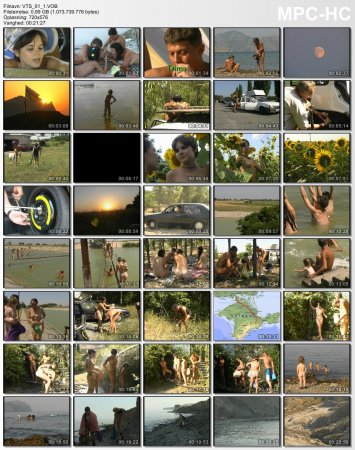 Crimea Revisited_part-1 Fox Bay - The Beginning_KCN (DVD, Family naturism and nudism)
