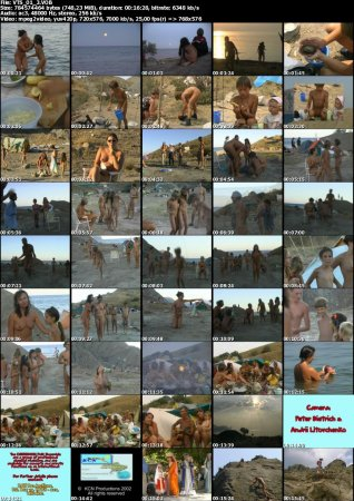 Crimea Revisited_part-2 Fox Bay - The Beginning_KCN (DVD, Family naturism and nudism)