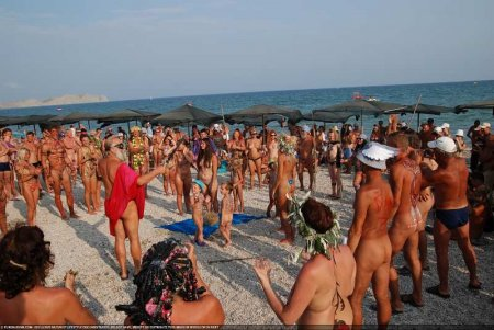 Festival On The Sand (Koktebel, family nudism)
