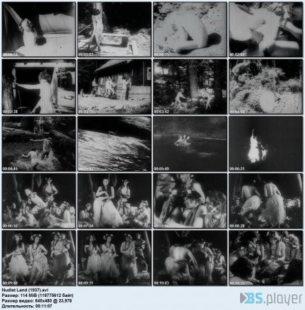 Nudist Land (1937) (retro naturism, family nudism)