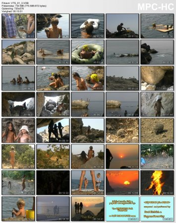Crimea Revisited_part-3 Fox Bay - The Beginning_KCN (DVD, Family naturism and nudism)