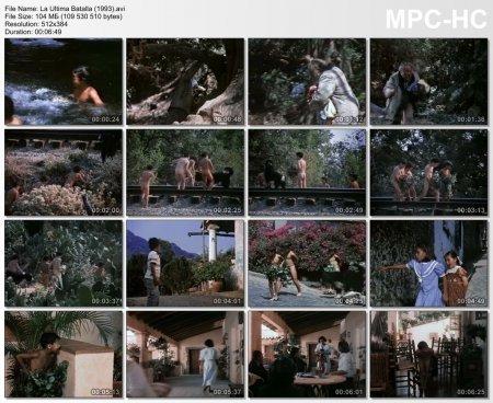 La Ultima Batalla (1993) (fragment, naked little boy)