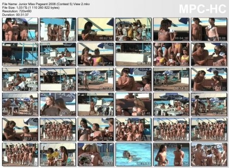 Junior Miss Pageant 2008 (Contest 5) View 2 (family nudism, young naturism)