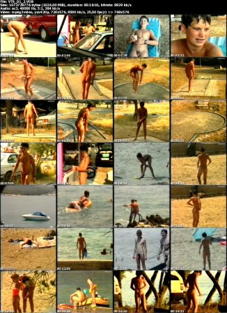 Zu Lande und auf dem Wasser_On the Land and in the Water 2 (family nudism, young naturism, naked boys, nude beach)