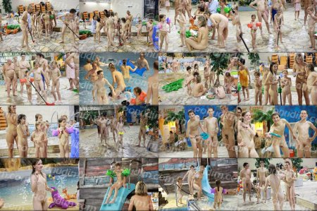 Naturist Party Games 2 (family nudism, young naturism, naked boys, naked girls)