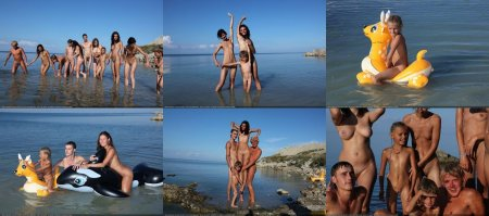 Early Morning Swim 5 (family nudism, family naturism, young naturism, naked boys, naked girls)
