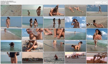 Sun, Sea, Kazantip! (naked girls)