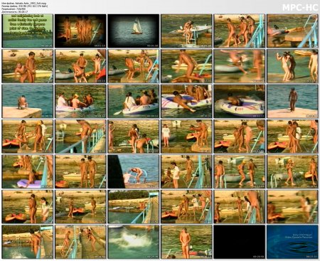 Adriatic Antics 1993 (family nudism, family naturism, young naturism, naked boys, naked girls)
