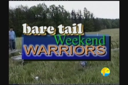 Baretail Weekend Warriors (family nudism, family naturism, young naturism, naked boys)