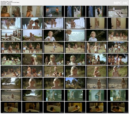 Сollection of fragments #14 (young naturism, naked boys, naked girls)