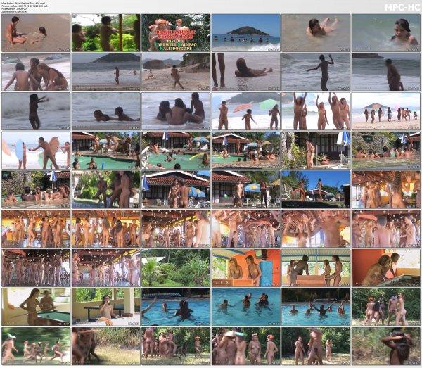 Brazil Festival Tour #10 HD (family naturism, naked boys, naked girls)