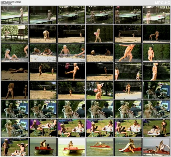 Summer Friends At Balaton - Pojkart  (family nudism, family naturism, young naturism, naked boys, naked girls)