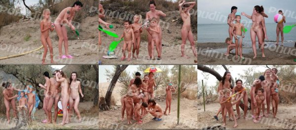 Camp Tent 2 (family nudism, family naturism, young naturism, naked boys, naked girls)
