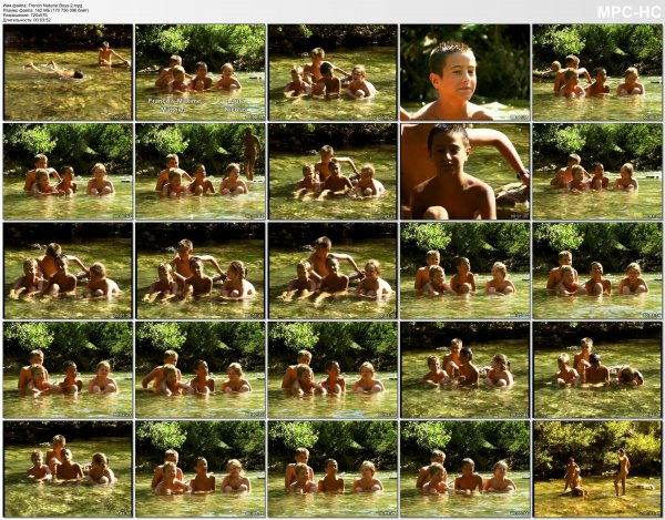 French Naturist Boys 2 (family nudism, family naturism, young naturism, naked girls, naked boys)