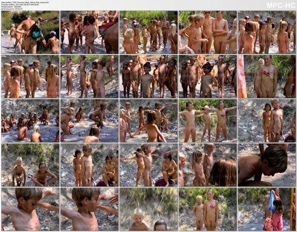 FKK Summer Heat - france kids camp (family nudism, family naturism, young naturism, naked girls, naked boys)