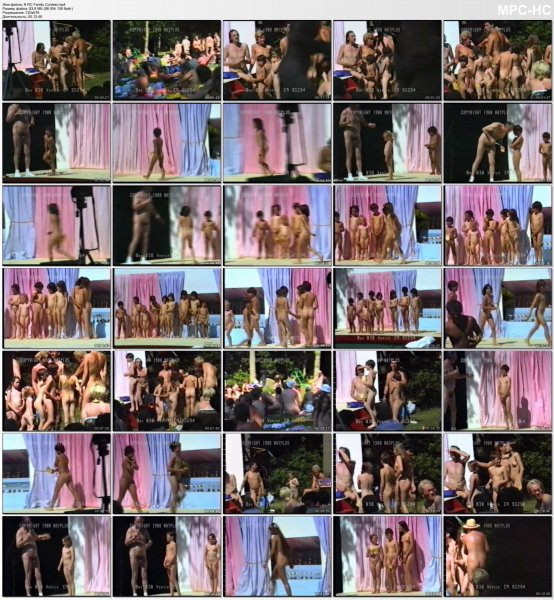 Family Contest (family nudism, family naturism, young naturism, naked girls, naked boys)