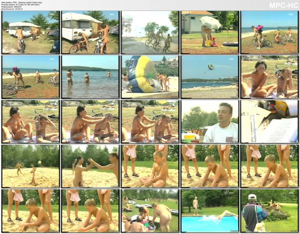 FKK - German nudist Family (family nudism, family naturism, young naturism, naked girls, naked boys)