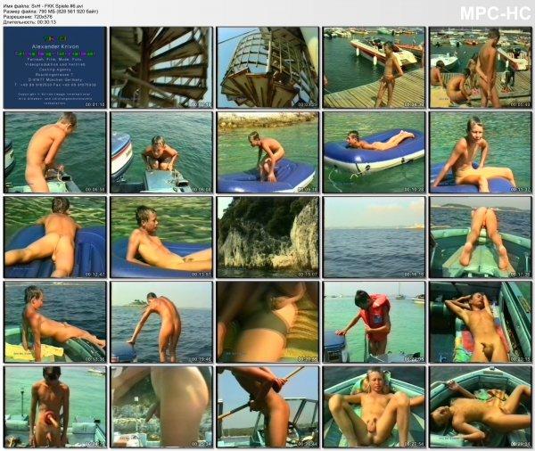 SvH - FKK Spiele #6  (family nudism, young naturism, naked boys)