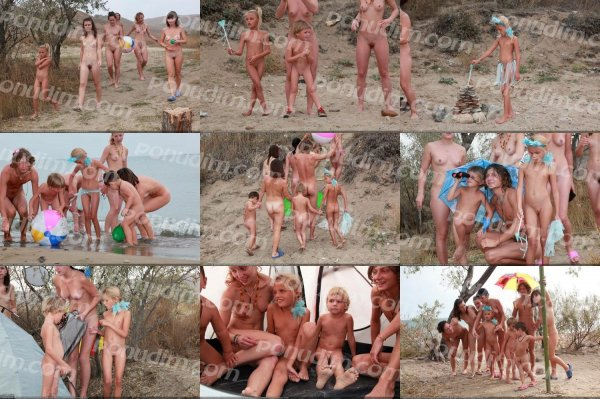 Camp Tent 3 (family nudism, family naturism, young naturism, naked boys, naked girls)