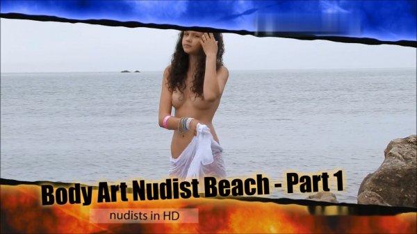Body Art, nudist beach