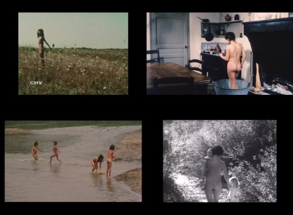 Сollection of fragments #35 (young naturism, naked boys, naked girls)