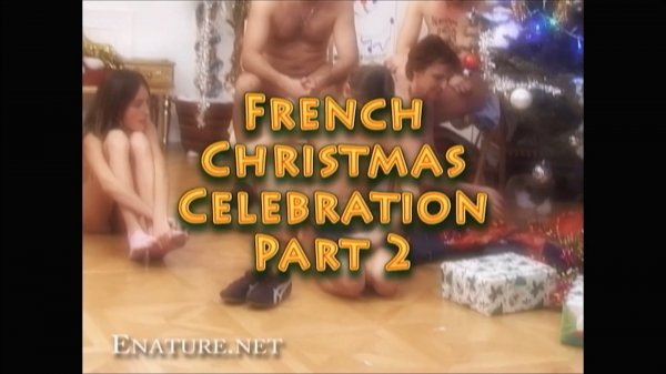 French Christmas Part 2 HD (family nudism, family naturism, young naturism, naked girls, naked boys)