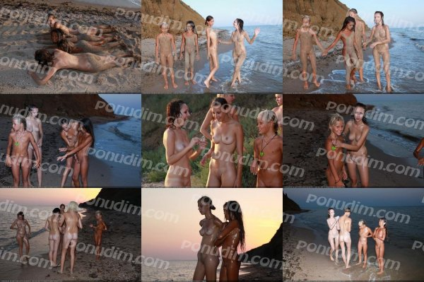 Till The Dusk 5 (family nudism, family naturism, young naturism, naked boys, naked girls)