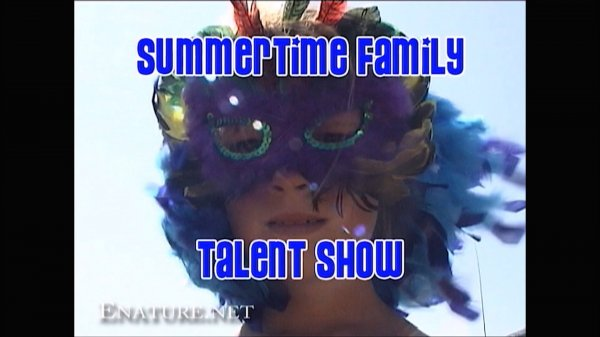 Summertime Family Talent Show HD (family nudism, family naturism, young naturism, naked girls, naked boys)