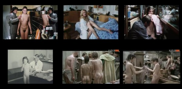 Сollection of fragments #38 (young naturism, naked boys, naked girls)