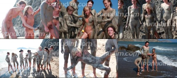 Day Of The Mud 4 (family nudism, family naturism, young naturism, naked boys, naked girls)