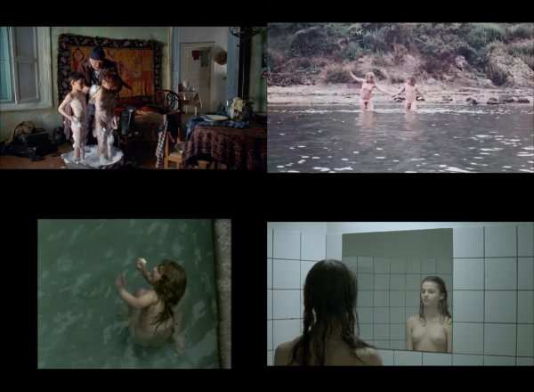 Сollection of fragments #43 (young naturism, naked boys, naked girls)