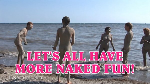 Let's All Have More Naked Fun! HD (family nudism, family naturism, young naturism, naked girls, naked boys)