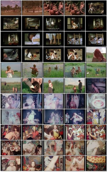 Сollection of fragments #45 (young naturism, naked boys, naked girls)