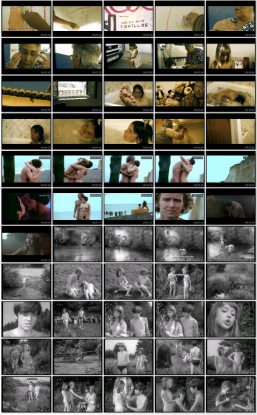Сollection of fragments #46 (young naturism, naked boys, naked girls)