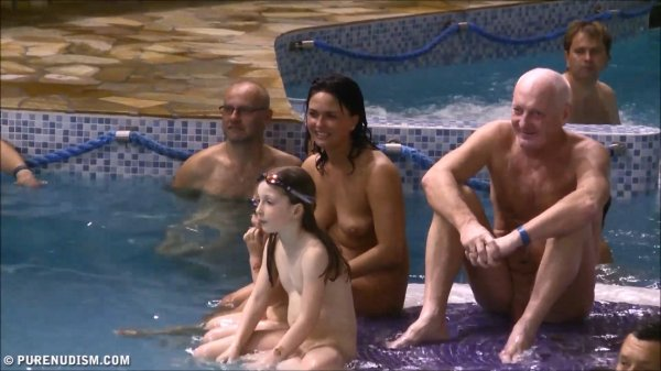 The Family Aqua Saga HD (family nudism, family naturism, young naturism, naked girls, naked boys)
