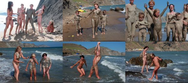 Day Of The Mud 6 (family nudism, family naturism, young naturism, naked boys, naked girls)