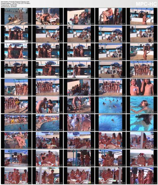 Poolside Pageant Classics HD (family nudism, family naturism, young naturism, naked girls, naked boys)