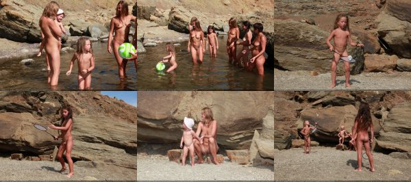 Day Of Rocky Sports 5 (family nudism, family naturism, young naturism, naked boys, naked girls)