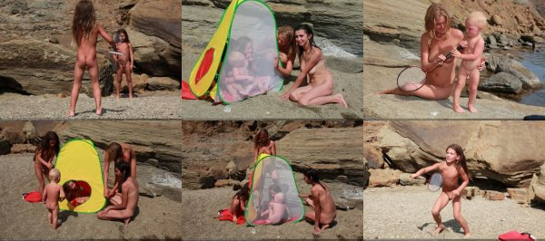 Day Of Rocky Sports 6 (family nudism, family naturism, young naturism, naked boys, naked girls)