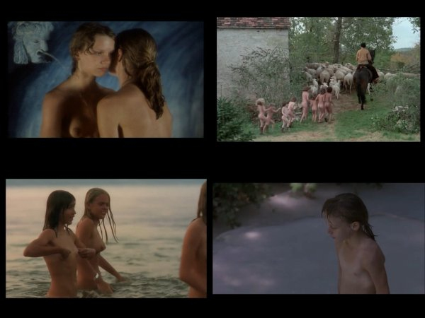 Сollection of fragments #57 (young naturism, naked boys, naked girls)