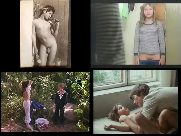 Сollection of fragments #58 (young naturism, naked boys, naked girls)