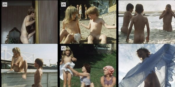 Сollection of fragments #60 (young naturism, naked boys, naked girls)