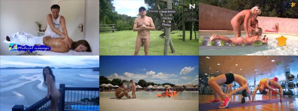 Seven places for resting naturists (family nudism, family naturism, naked boys, naked girls)