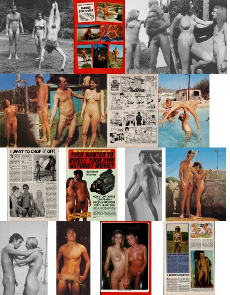 Health and Efficiency (family nudism, family naturism, young naturism, naked boys, naked girls)