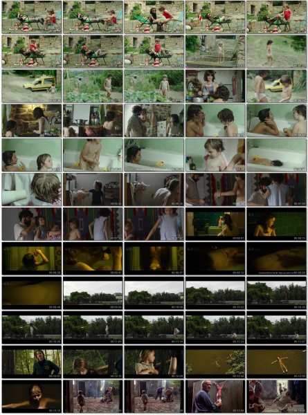 Сollection of fragments #71 (young naturism, naked boys, naked girls)
