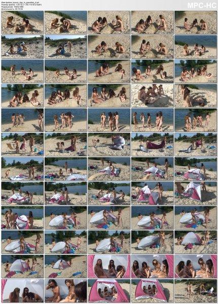 Joyous Day in Paradise 4 (nudism, naturism, naked girls)